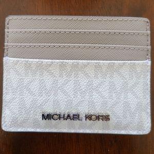 Michael Kors - Card Holder - Jet Set Travel collec